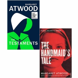 The Testaments [Hardcover], The Handmaids Tale 2 Books Collection Set By Margaret Atwood Photo