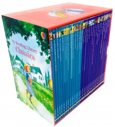 Usborne My Reading Library Classics 30 Books Box Set Collection Photo