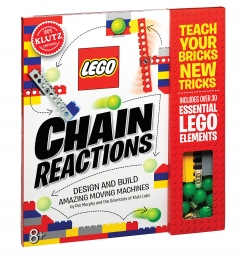Lego Chain Reactions Activity Book Klutz Photo