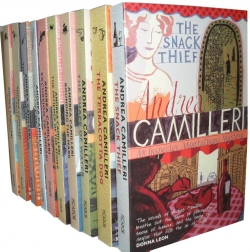 Andrea Camilleri Montalbano Series 10 Books Photo