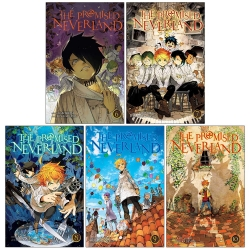The Promised Neverland Volume 6-10 Collection 5 Books Set (Series 2) Photo