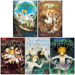 The Promised Neverland Volume 1-5 Collection 5 Books Set - Series 1 Photo