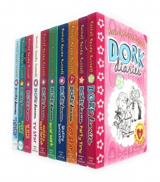 Dork Diaries Collection Rachel Renee Russell 10 Books Set