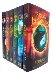 Brian Jacques Redwall Series 6 Books Collection Set Photo