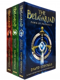 The Belgariad 3 Books Collection Set by David Eddings - Pawn of Prophecy, Queen of Sorcery, Magician Gambit Photo