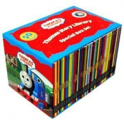 Thomas The Tank Engine & Friends 50 Books Box Set Photo