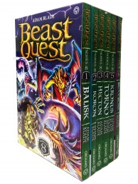 Beast Quest Series 8 6 Books Box Collection Pack Set Photo