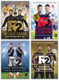 F2 Freestylers Football Series 4 Books Collection Set Photo