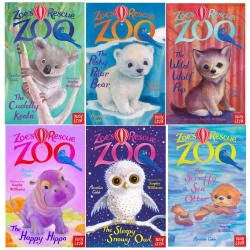Zoes Rescue Zoo Collection of 6 Books Series 1 Photo