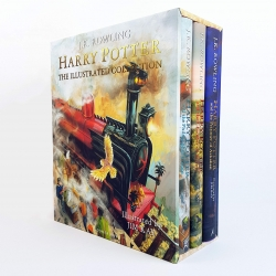 Harry Potter - The Illustrated Collection - Three magical classics Photo