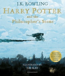 Harry Potter and the Philosophers Stone Illustrated Edition by J K Rowling