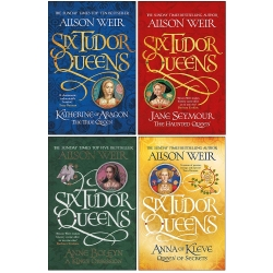 Alison Weir Six Tudor Queens Collection 4 Books Set Photo