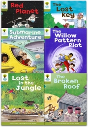 Oxford Reading Tree Read With Biff Chip Kipper Stories Collection 6 Books Set Level 7 Photo