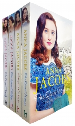 Anna Jacobs Ellindale Series 4 Books Collection Set - One Kind Man, One Special Village, One Quite Woman, One Perfect Family Photo