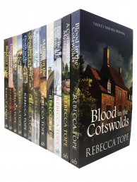 The Cotswold Mysteries Collection Rebecca Tope 12 Books Set by Rebecca Tope