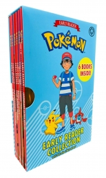 The Official Pokemon Early Reader 6 Books Box Set Collection with Full Colour Illustrations Photo