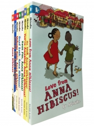 Anna Hibiscus Series 8 Books Collection Set by Atinuke Children Books Photo