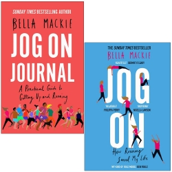 Bella Mackie Collection 2 Books Set - Jog on Journal, Jog On How Running Saved My Life by Bella Mackie