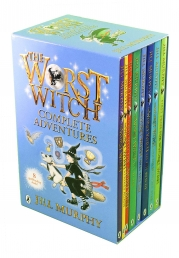 The Worst Witch Complete Adventure 8 Books Collection Set by Jill Murphy Photo