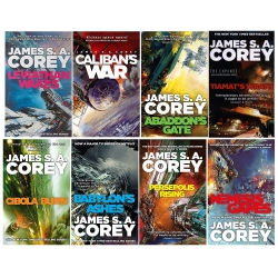 James S A Corey Expanse Series 8 Books Collection Set Photo