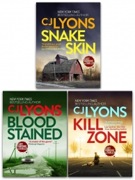 CJ Lyons Lucy Guardian FBI Thrillers 3 Books Collection Set - Kill Zone, Blood Stained, Snake Skin Photo