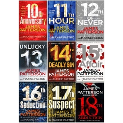 James Patterson Womens Murder Club Series 9 Books Collection Set (Books 10-18) Photo