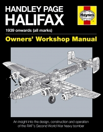 Handley Page Halifax Manual 1939-52 All Marks - Haynes Manuals Books Photo