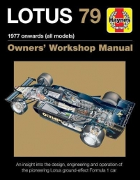 Lotus 79 1978 Onwards - Haynes Owners Manual Photo