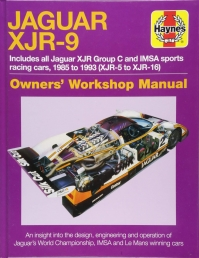 Haynes Jaguar XJR-9 - Owners Workshop Manual Photo