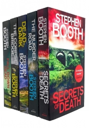 Stephen Booth Cooper and Fry Series 5 Books Collection Set - The Murder Road, Secrets of Death, Dead in the Dark, Fall Down Dead, The Corpse Bridge Photo