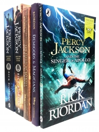 Rick Riordan Percy Jackson and Heroes of Olympus Collection 5 Books Set Photo