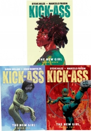 Kick-Ass: The New Girl Volume 1-3 Collection 3 Books Set Photo