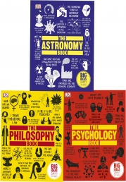 Big Ideas Series Collection 3 Books Set (The Philosophy Book, The Psychology Book, The Astronomy Book) Photo