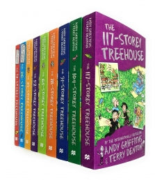 Andy Griffiths Treehouse Collection 9 Books Set Photo
