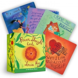 Power Thought Cards - Beautiful Card Deck Tarots Cards Astronomy by Louise Hay
