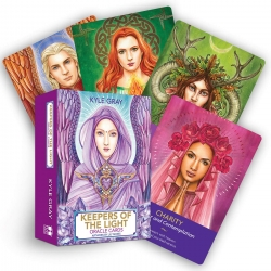 Keepers of the Light Oracle Cards by Kyle Gray Photo