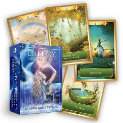 Energy Oracle Cards - A 53-Card Deck and Guidebook by Sandra Anne Taylor Photo