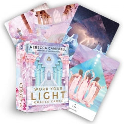 Work Your Light Oracle Cards by Rebecca Campbell, Danielle Noel (Illustrator)