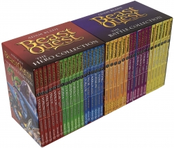 Beast Quest The Hero Collection and The Battle Collection - Series 1-6 - 36 Books Box Set Photo