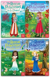 The Rescue Princesses Collection 4 Books Set By Paula Harrison Photo