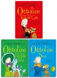 Chris Riddell Ottoline Collection 3 Books Set Photo