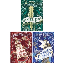 His Dark Materials Gift Edition Trilogy 3 Books Collection Set by Philip Pullman Photo