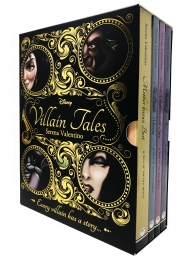 Disney Villain Tales Collection 4 Books Set By Serena Valentino - Snow White, Tangled, Beauty and the Beast, Little Mermaid