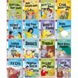 Biff, Chip and Kipper Stage 3 Read with Oxford for Age 5+ - 16 Books Collection Set Photo