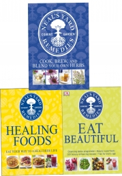 Neals Yard Remedies Collection 3 Books Set - Healing Foods, Eat Beautiful, Cook Brew and Blend Your Own Herbs Photo