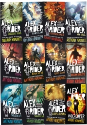Alex Rider 12 Books Collection Set By Anthony Horowitz World Book Day Undercover Photo