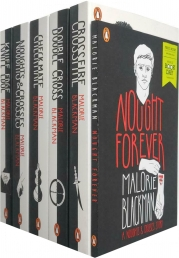 Noughts and Crosses Collection 6 Books Set By Malorie Blackman (Noughts & Crosses, Knife Edge, Checkmate, Double Cross, Crossfire, Nought Forever) Photo