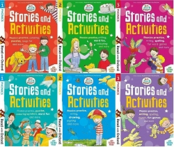 Biff, Chip and Kipper Phonics Stories and Activities Pack 6 Books Collection Stage 1 to 3 - Age 3+ Photo