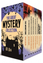 The Great Mystery Collection 8 Books Box Set with a Journal Photo
