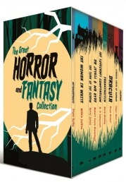 The Great Horror and Fantasy Collection 8 Books Box Collection Set with a Journal Inside Photo